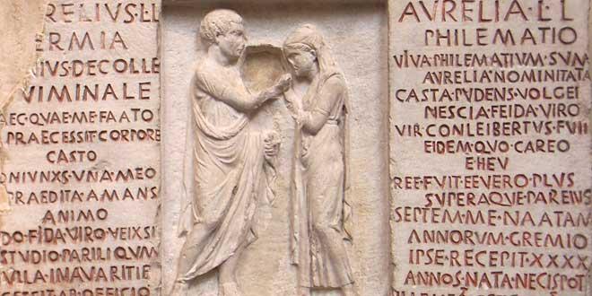 Matrimonio Romano Definicion : Besos en la antigua roma
