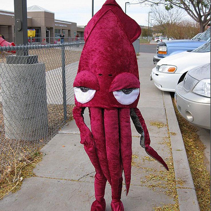 disfraz kraken