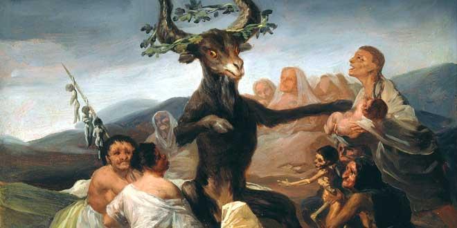 El aquelarre, Goya, 1797-98