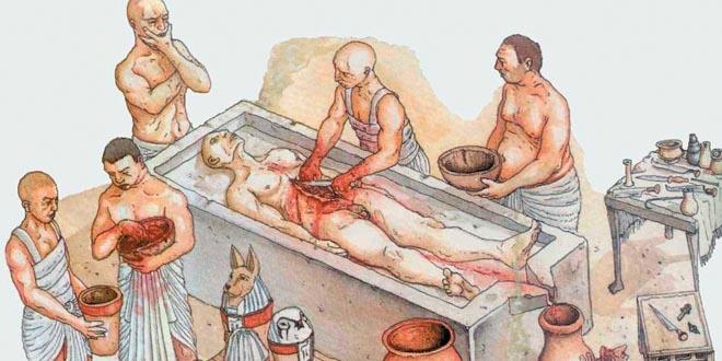 embalsamamiento egipto