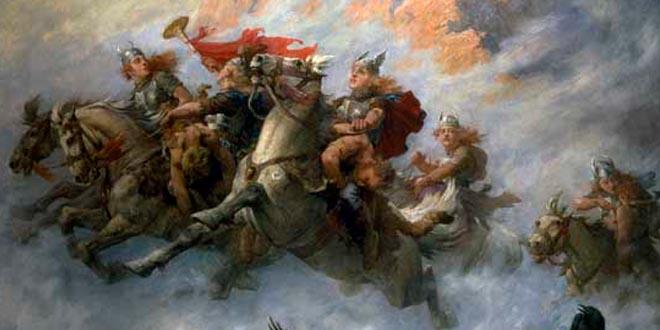 mitologia valquirias