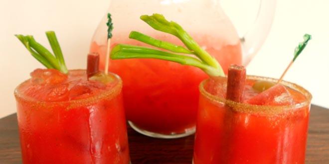 Bloody mary bebida