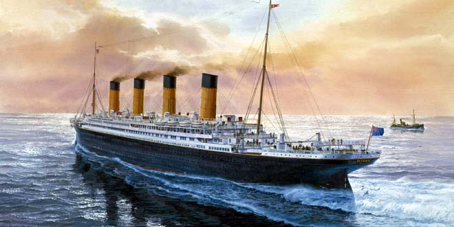 Misterios titanic