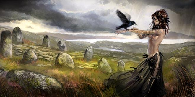 Morrigan diosa celta