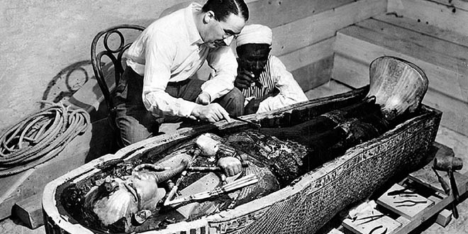 Tutankamon enterramiento curiosidades