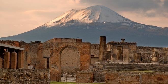 pompeya volcan erupcion