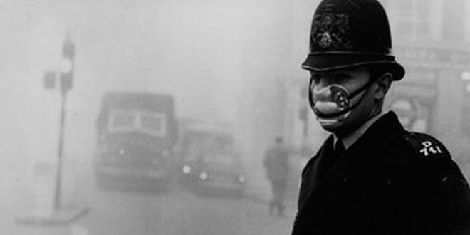 El gran smog contaminacion