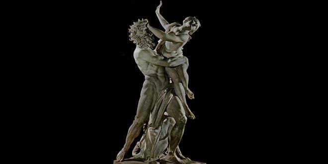 El rapto de Proserpina de Bernini