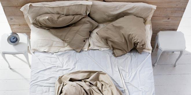 Hacer la cama acaros