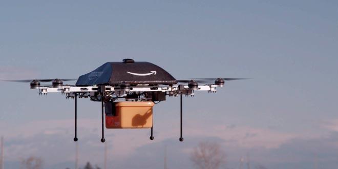 envio paquetes dron amazon