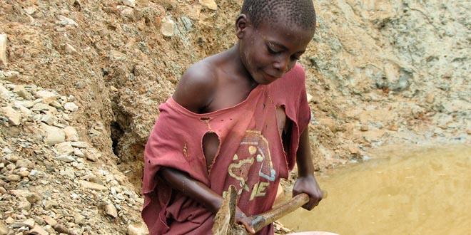 niños minas coltan