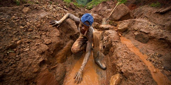 niños minas