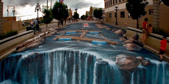 pintura 3d calle