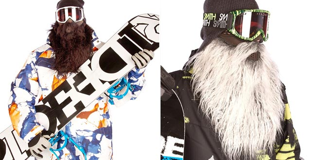 Barba para esquiar