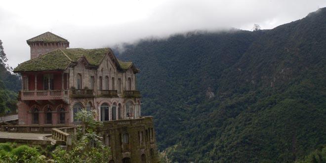 hotel del salto colombia abandonados