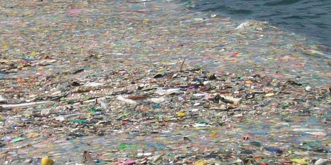 islas de basura plastico mar