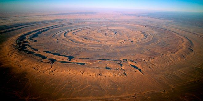 estructura de richat mauritania