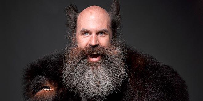 hombres con barba más atractivos