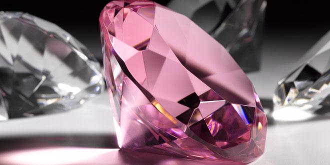 El Diamante rosa del Jubileo de la Reina Isabel II tallado