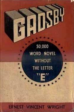 Gadsby libro sin letra E