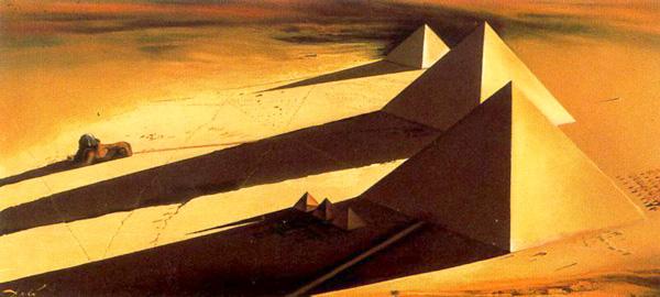 Las Pirámides y la esfinge de Gizé