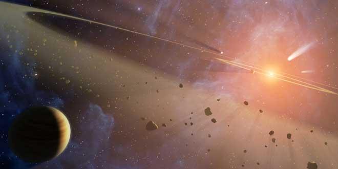 Asteroides NASA fotografía