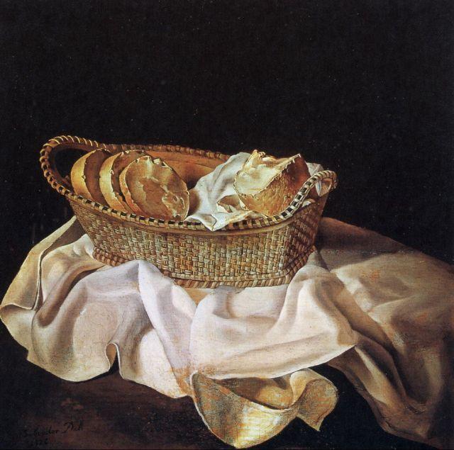 Cesta de pan Dalí