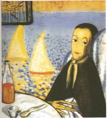 """""""El niño enfermo"""". Primera pintura de Dalí. Autorretrato realizado a la edad de 10 años (1914)"""